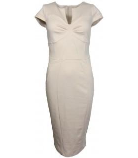 Luxstore beige kjole
