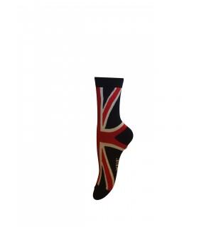 Maybee Strümpfe mit UK Flagge