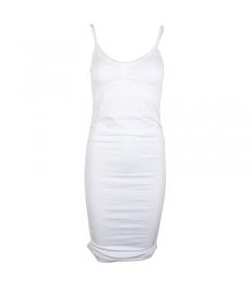 Uldahl shapewear-Kleid weiß