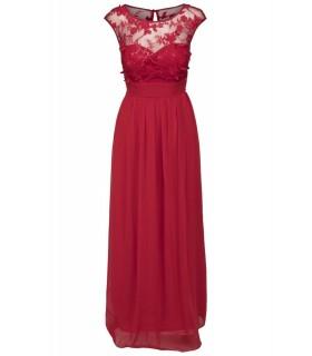 Goddess red maxi dress