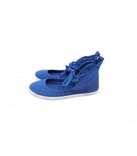SHOESHOE blue ballarina sneakers