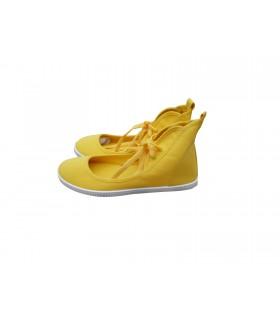 SHOESHOE yellow ballarina sneakers