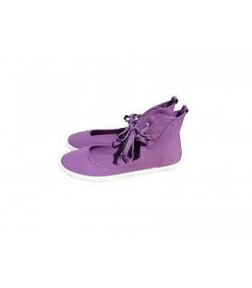 SHOESHOE purple ballarina sneakers