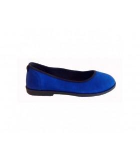 SHOESHOE blue ballarina with edge