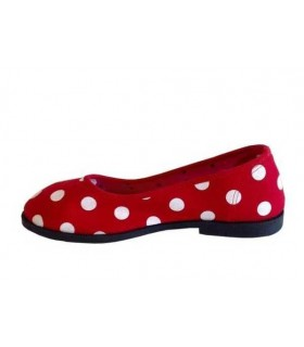 SHOESHOE red ballarina with dots