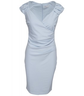 Goddess baby blå midi kjole