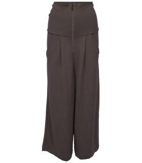 Bitte Kai rand brown pants with zipper