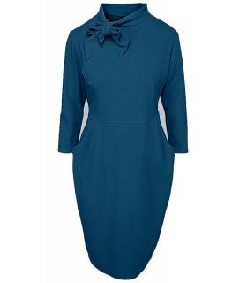 Goddess 60'er inspireret kjole - teal