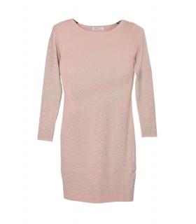Paris Fashion Alina Fashion lyserød kjole