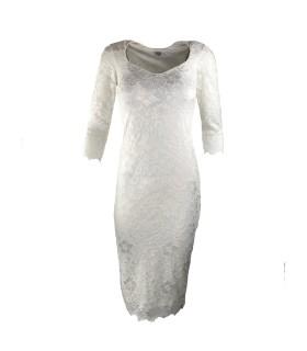 Goddess white lace dress