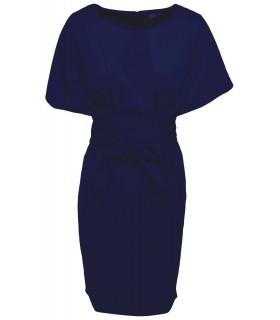 Goddess blå kimono kjole