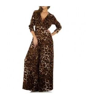 Paris Fashion JCL leopard jumpsuit