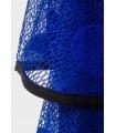 Actuel lang blå kjole