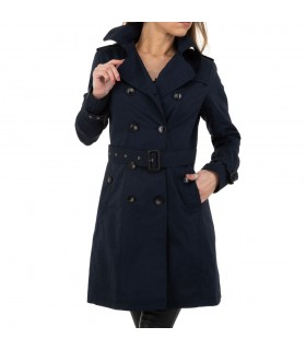 Luxstore navy blue trenchcoat