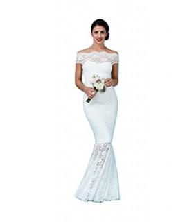 Goddiva white offshoulder dress
