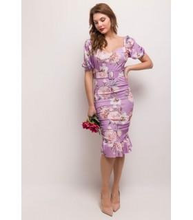 Paris Fashion Bellavie purple dress