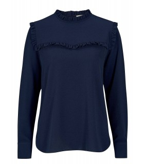 Second Female New Mist bluse navy