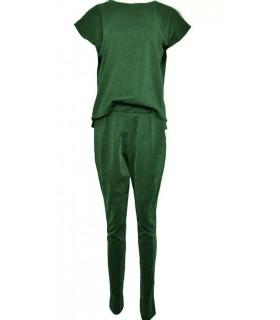 Neo Noir grøn gunmetal jumpsuit