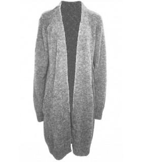 Neo Noir Gina lys grå cardigan