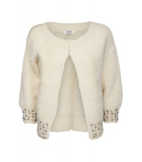 Paris Fashion Christina fake fur cardigan