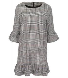 Neo Noir Rebecca check checkered dress