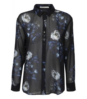 FWSS Fall Winter Spring Summer Animal nitrate black shirt