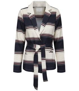 Vila Vihelena blåstribet blazer suit jacket