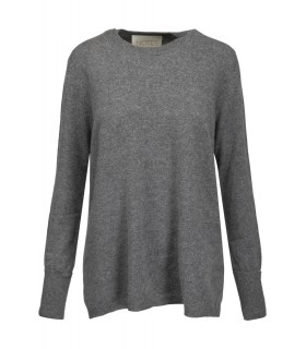Notes du Nord Dia kashmir o-neck gray sweater