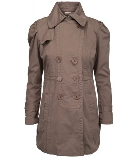Marc Lauge brun trenchcoat