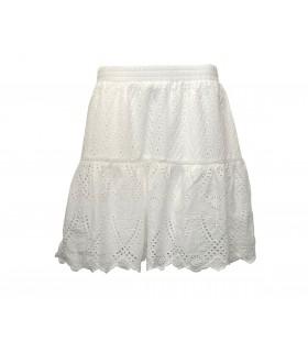 Gestuz Tanna white skirt