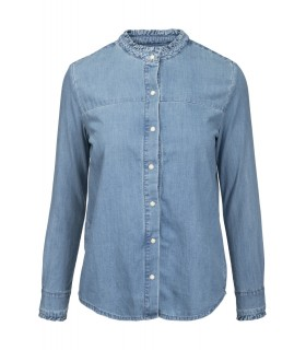 Norr Amy denim shirt cowboyskjorte