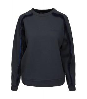 Norr Soul fur blå sweater