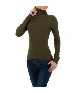 Paris Fashion SHK grøn rullekrave