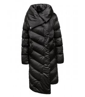 Glo-Story lang sort jakke