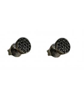 Aqua Dulce små oxyderede stikker med krystaller sort